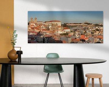 Altstadt Ribeira bei Sonnenuntergang, UNESCO Weltkulturerbe, Porto, Portugal von Markus Lange