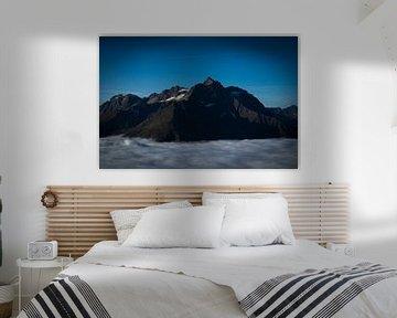 berg in Oostenrijk van Raf Eussen