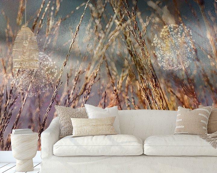 Sfeerimpressie behang: Mooi uitgebloeid van Marijke de Leeuw - Gabriëlse