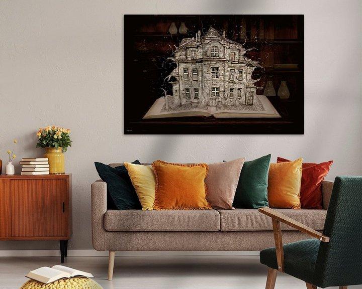 Beispiel: Die Villa erzählt Geschichten aus dem Buch von Stefan teddynash