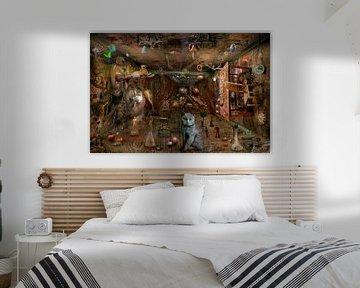 Traum Raum Chaos von Stefan teddynash