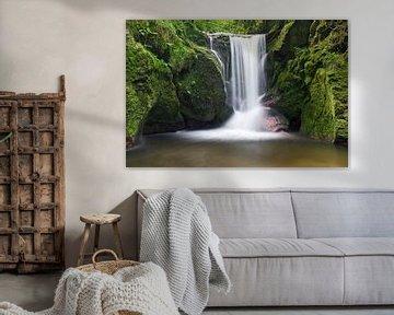 Geroldsauer Wasserfall im Schwarzwald von Markus Lange