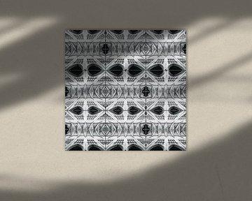 Collage der Kirchendecke von Rob van der Pijll