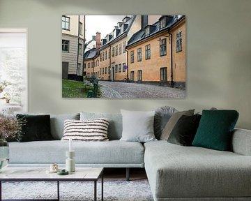 Straßenfotografie in der schwedischen Stadt Stockholm von Karijn | Fine art Natuur en Reis Fotografie
