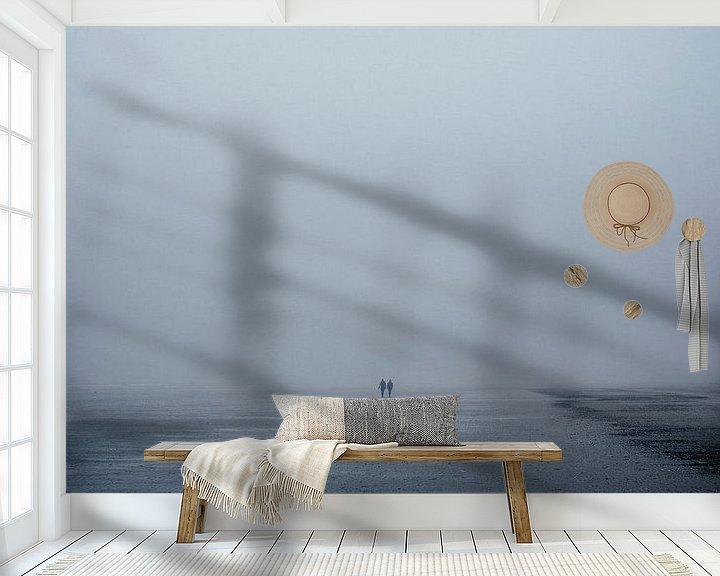Sfeerimpressie behang: Endless Beach van Gijs Wilbers