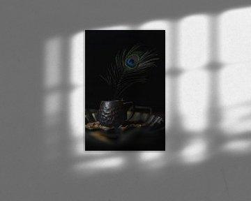 Stilleven - Donker en rustig van Steven Dijkshoorn
