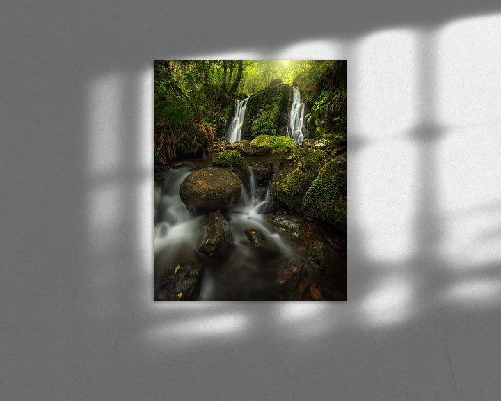 Sfeerimpressie: Mystieke waterval van Markus Stauffer