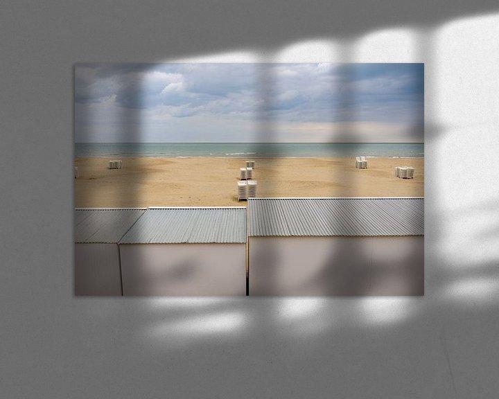 Impression: Une plage insolente le matin sur Johan Vanbockryck