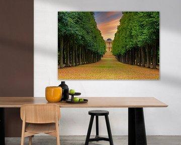 Het Belvédère van Sanssouci Park, Potsdam van Martijn Mureau