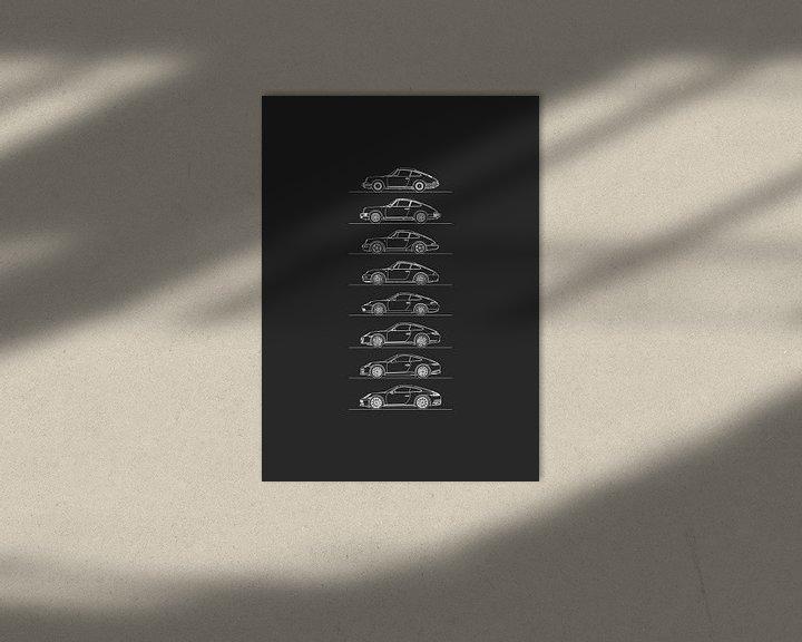 Beispiel: Porsche 911 Entwicklung von Artlines Design