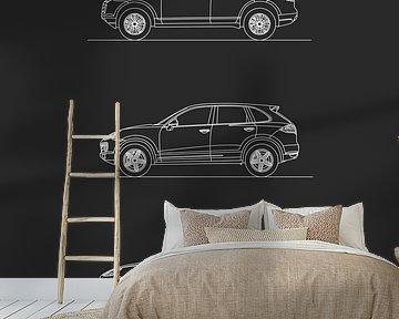 Porsche Cayenne Entwicklung von Artlines Design