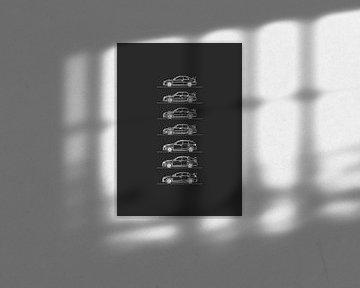Subaru WRX Evolutie van Artlines Design