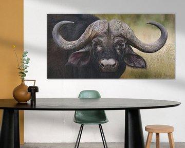 Kaffernbüffel von Russell Hinckley