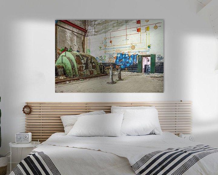 Beispiel: die Fabrikhalle von Nadine Rall