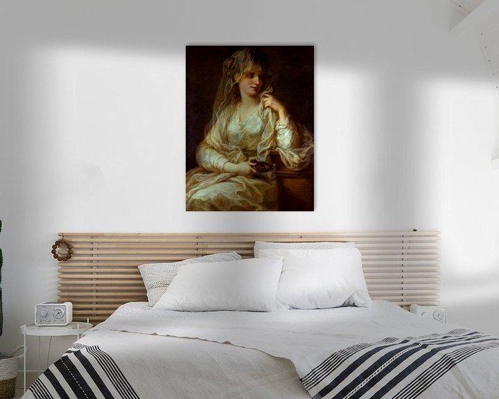 Beispiel: Bildnis einer Dame als Vestalin, Angelika Kauffmann