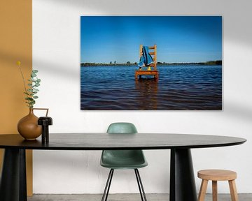 Water stoel van Gert-Jan Kamans