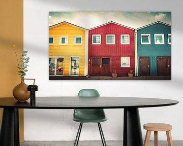 Noordse huizen van Jens Sessler