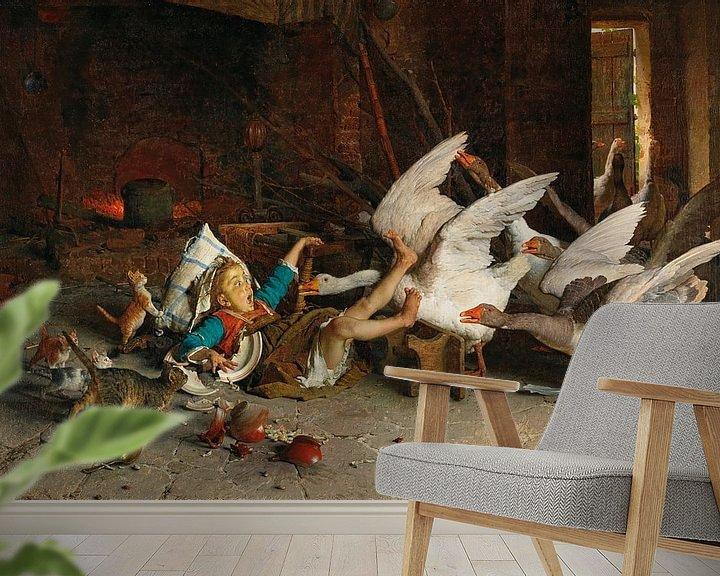 Beispiel fototapete: Eine Katastrophe, Gaetano Chierici