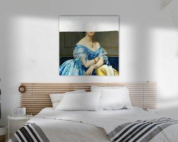Porträt einer Frau von David Potter