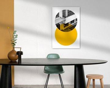 Bauhaus Snijdende Cirkels van Raymond Wijngaard