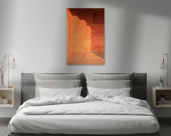 Beispiel: Sonnenlicht-Wände, Jaipur von Irma Grotenhuis