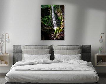 Burgbach waterval ingelijst van Christian Klös