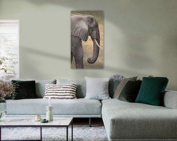 Elefant III ( Elefant III ) von Russell Hinckley