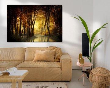 Ein Licht im Wald von Kees van Dongen