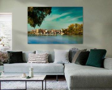 Wasserhäuser - Dordrecht von Bert Seinstra