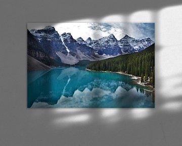 Moraine Lake - Canada van Egbert van Ede