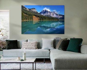Emerald Lake - Yoho National Park - Canada van Egbert van Ede
