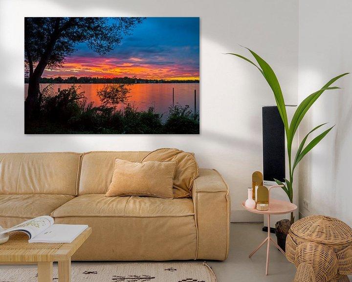 Beispiel: Wannsee Sonnenuntergang von Heiko Lehmann