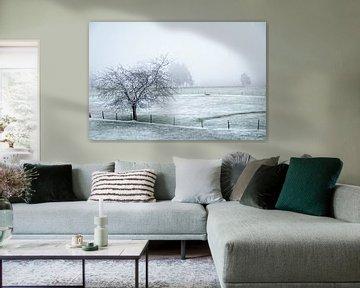 Winterlandschaft in Malmedy 3 von Christophe Fruyt