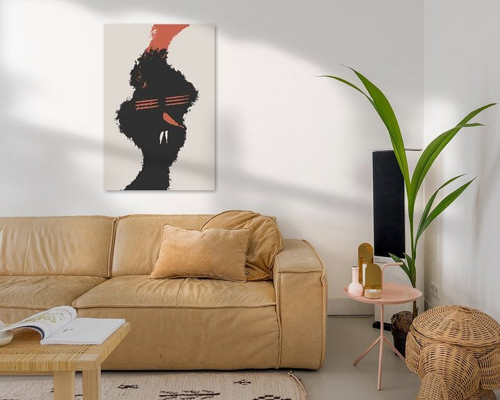 Beispiel: Rote Chili-Nase von dcosmos art