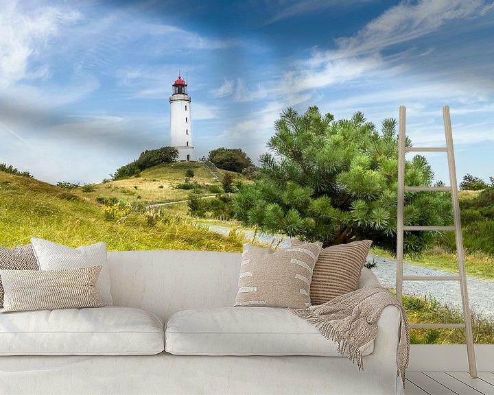 Beispiel fototapete: HIDDENSEE Leuchtturm Dornbusch von Melanie Viola