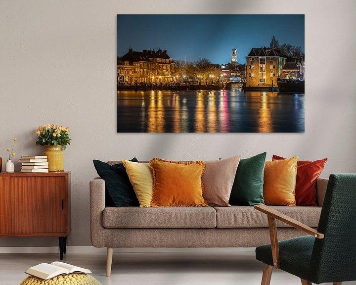 Beispiel: Dordrecht,Nieuwe-Haven von Michel Van Giersbergen