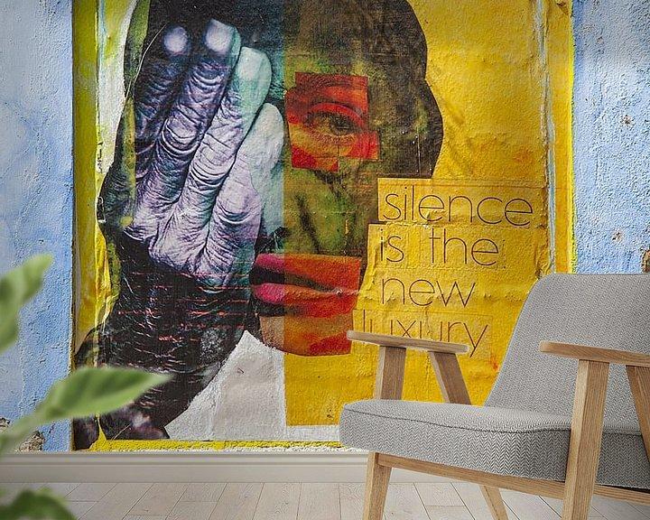 Sfeerimpressie behang: Curaçao straatkunst van Johann van der Geest