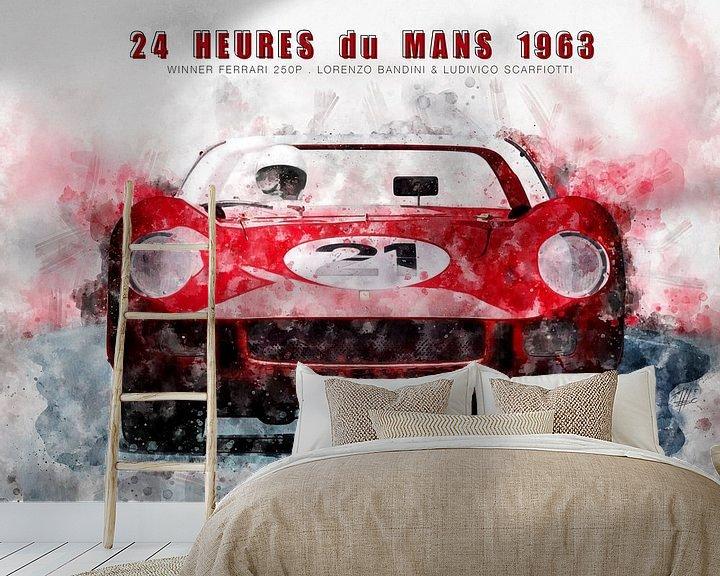 Beispiel fototapete: Le Mans Sieger 1963 von Theodor Decker