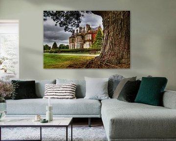 schilderij bewerking van Muckross House (landhuis in Ierland)