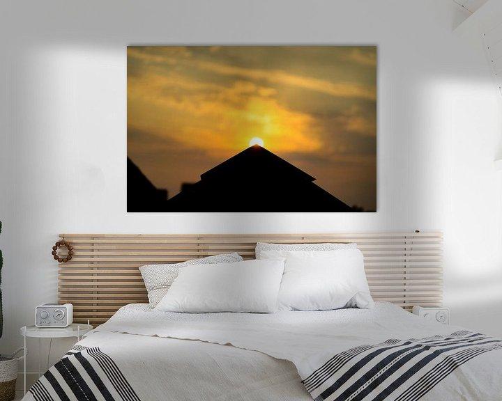 Sfeerimpressie: Gouden zonsondergang van Ken Huysmans