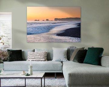 Reynisfjara Black Sand Beach van Jurjen Veerman