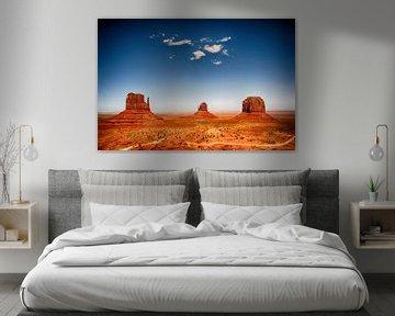 Monument Valley, USA van Esther Hereijgers
