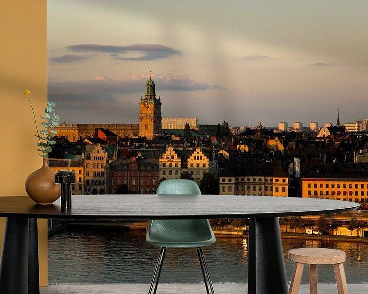 Beispiel fototapete: Stadtarchitektur in Stockholm von Karijn | Fine art Natuur en Reis Fotografie