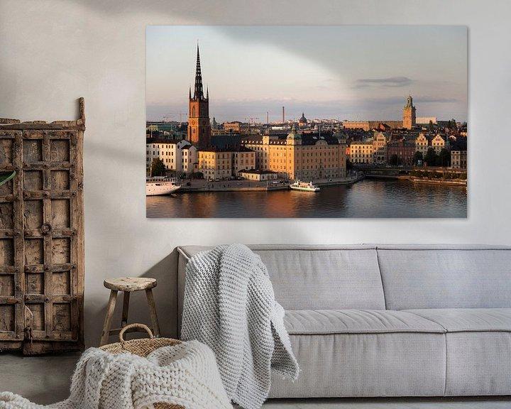 Beispiel: sonnenuntergang in der stadt stockholm von Karijn   Fine art Natuur en Reis Fotografie