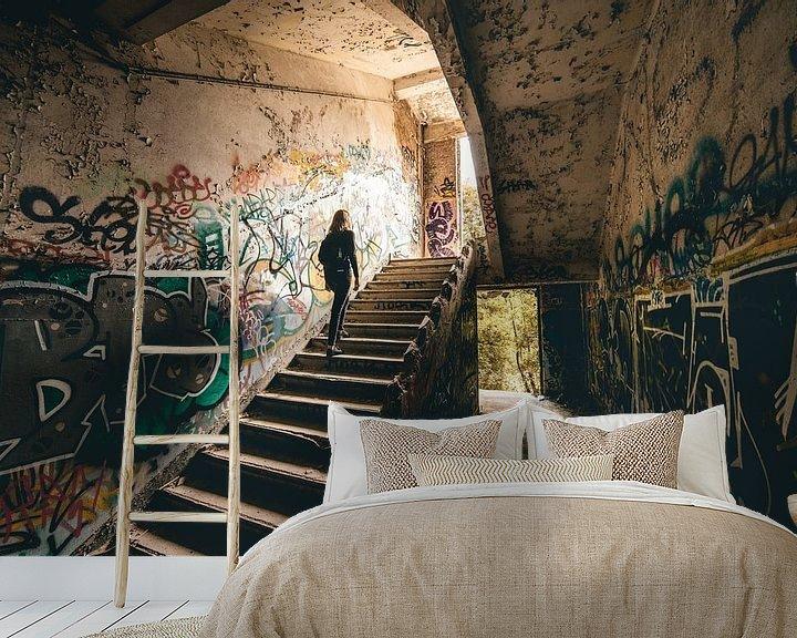 Beispiel fototapete: Stadterkundung verlassener Gebäude Belgien von Peter Haastrecht, van