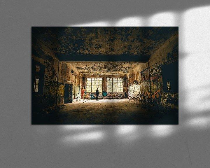 Beispiel: Stadterkundung verlassener Gebäude Belgien von Peter Haastrecht, van
