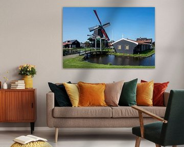 Le moulin du héros Joshua à Zaandam sur Foto Amsterdam / Peter Bartelings