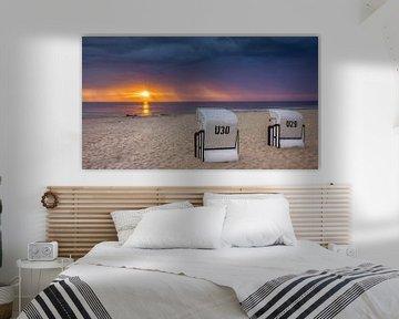 Sunrise Usedom, Deutschland von Adelheid Smitt