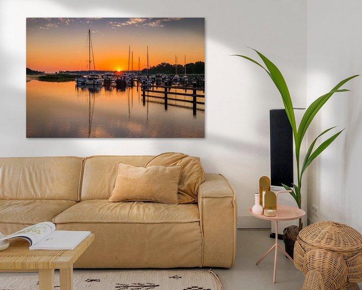 Beispiel: Sonnenaufgang auf dem Darss, Deutschland von Adelheid Smitt