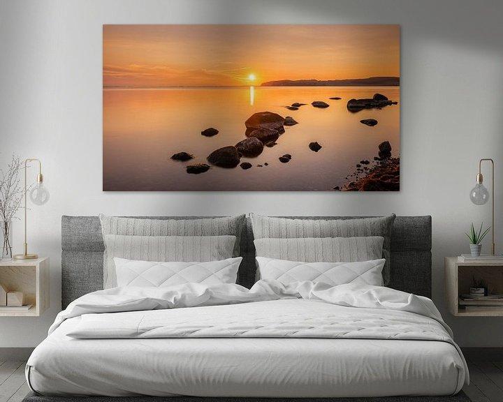 Beispiel: Sonnenuntergang bei Klein Zicker, Rügen, Deutschland von Adelheid Smitt